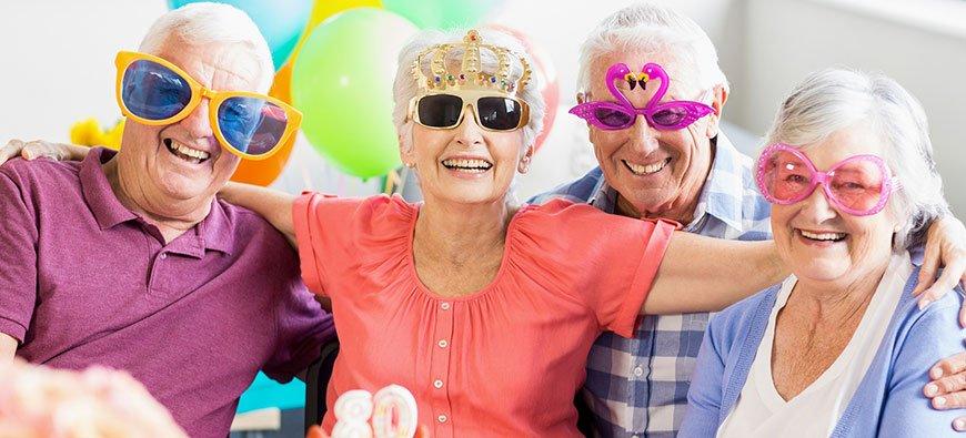 Досуг пожилых людей