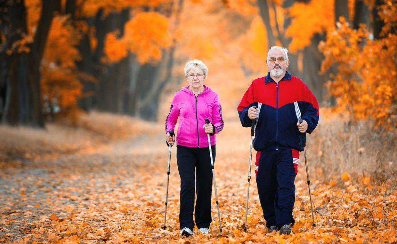 Скандинавская ходьба для пожилых людей — правила, польза и вред скандинавской  ходьбы с палками для начинающих пенсионеров